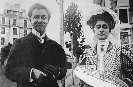 Alexander_Scriabin_and_Tatiana_Schloezer,_1909