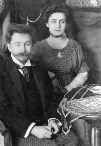 Scriabin & Tatiana Schloezer